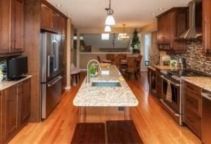 home renovation company calgary - kitchen reno example
